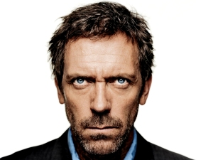 I neglected to photograph the rice while it was cooking so please accept a photograph of Dr. House MD in lieu.