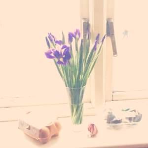 Still life with garlic.